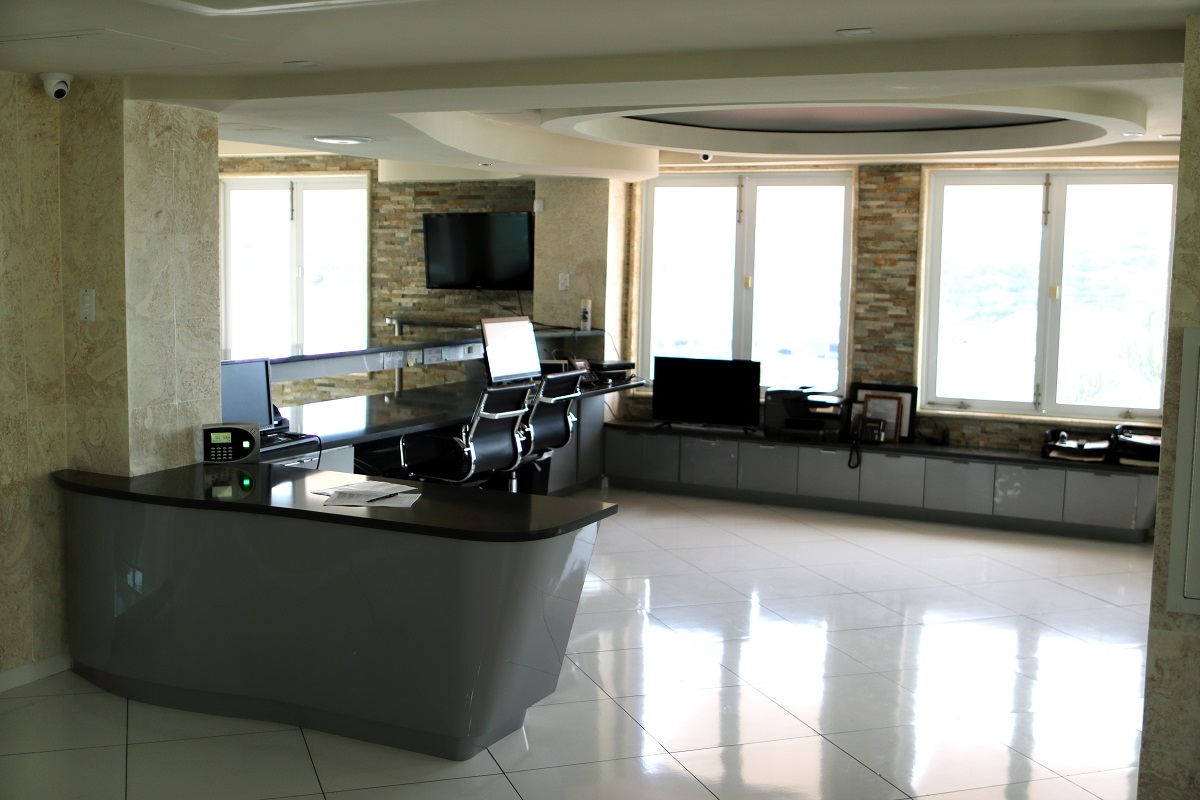CIQA Lobby Reception Area