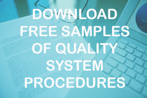 Quality procedures templates
