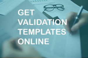 validation templates online