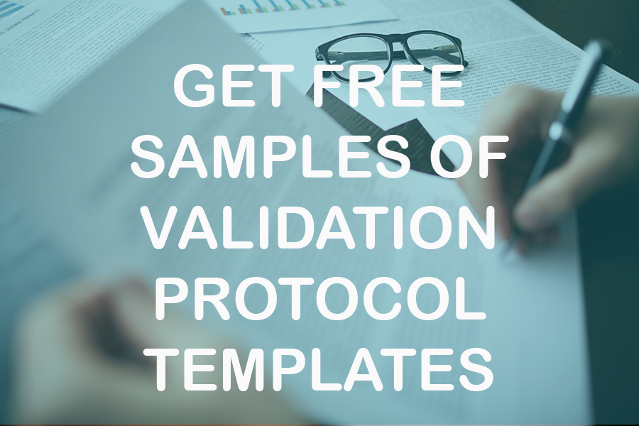 CIQA Samples of validation protocol templates