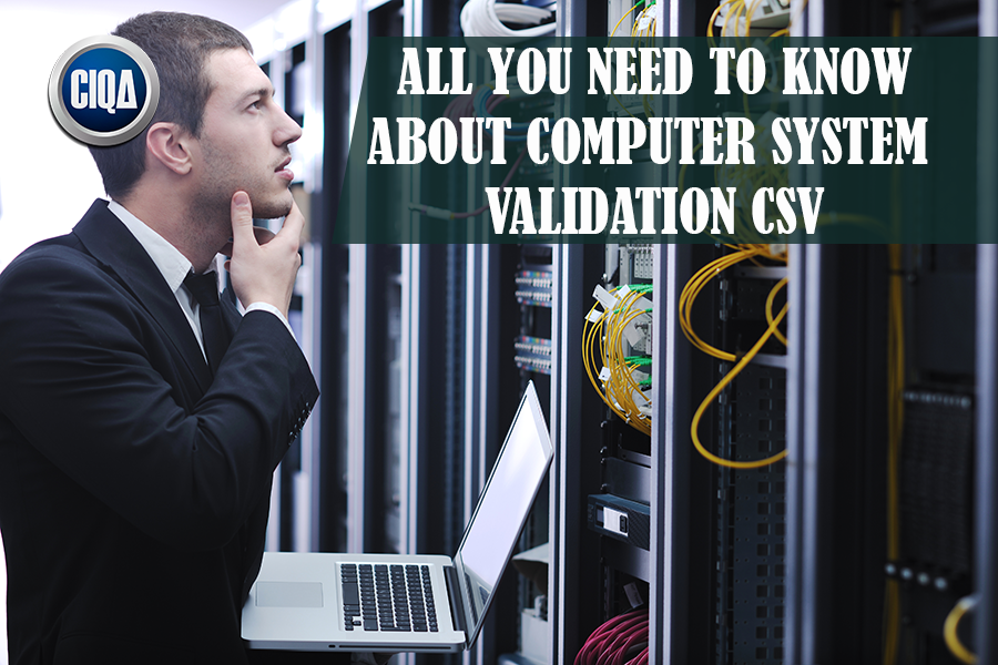 All You Need to Know About Computer System Validation CSV