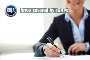 Areas covered by cGMPs