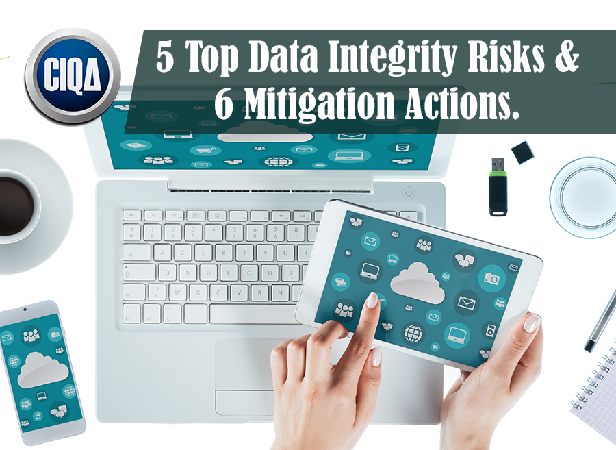 5 Top Data Integrity Risks & 6 Mitigation Actions.