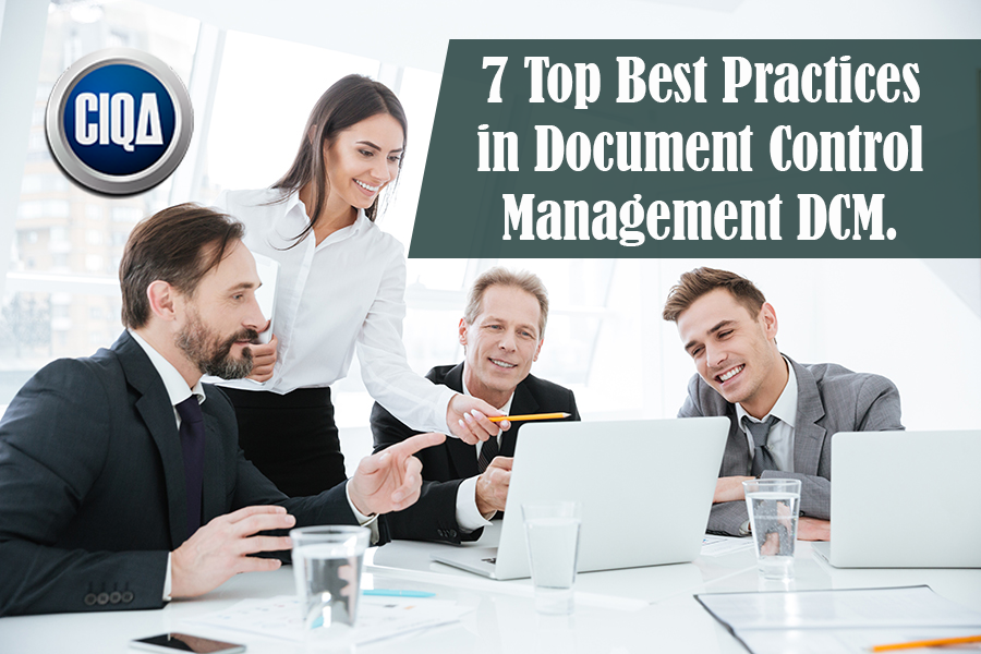 7 Best Practices in Document Control Management DCM.