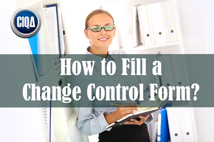 How to Fill a Change Control Form?