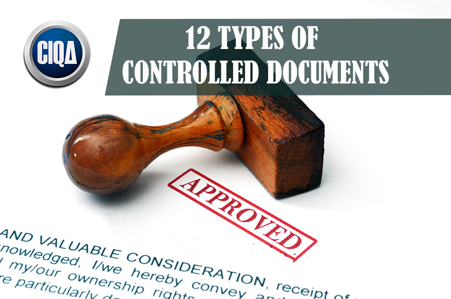What 12 Types of Controlled Documents Exists?