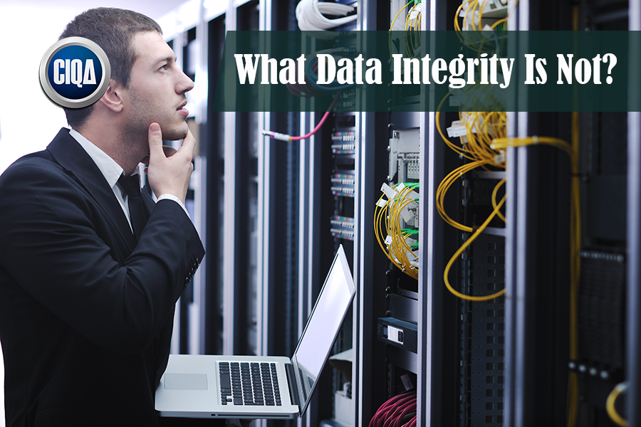 What Is Not Data Integrity?