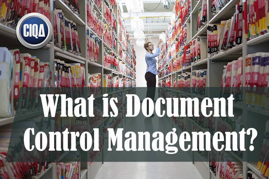 All About Document Control Management DCM