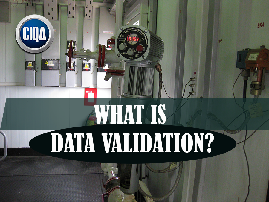 Data Validation as Pre-requisite to Data Integrity.