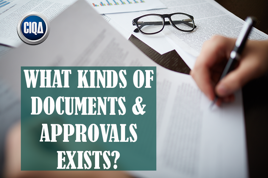 What Kinds of cGMP Documents and Approvals Exists?