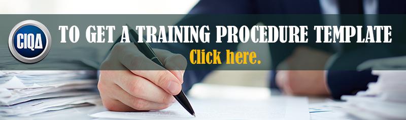 Get a full template training procedure