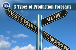 3 Types of Production Forecasts - manufacturing forecasting