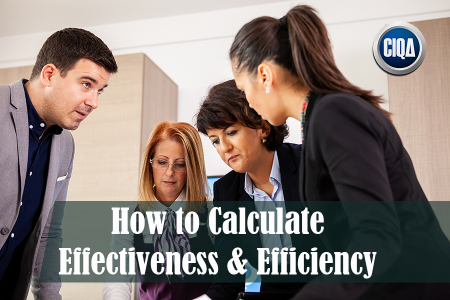 8 Steps How to Calculate Effectiveness & Efficiency in Lean Six Sigma.