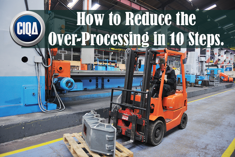 What is Over-Processing Waste According to Lean Manufacturing?