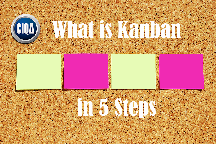 What is Kanban in 5 Steps according to Process Excellence.