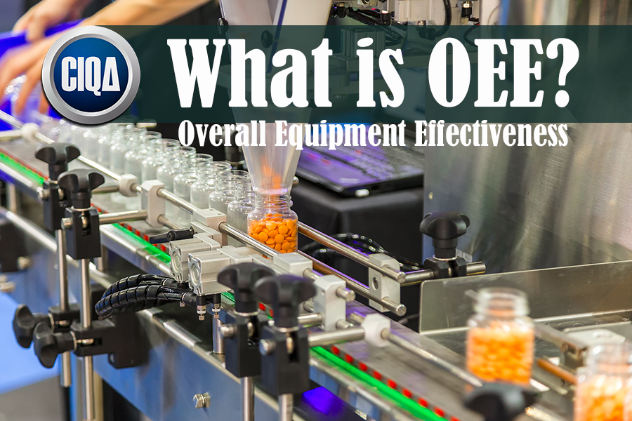 What is OEE Overall Equipment Effectiveness as per Lean Manufacturing?