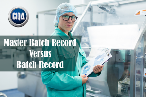 What is a Master Batch Record versus batch record