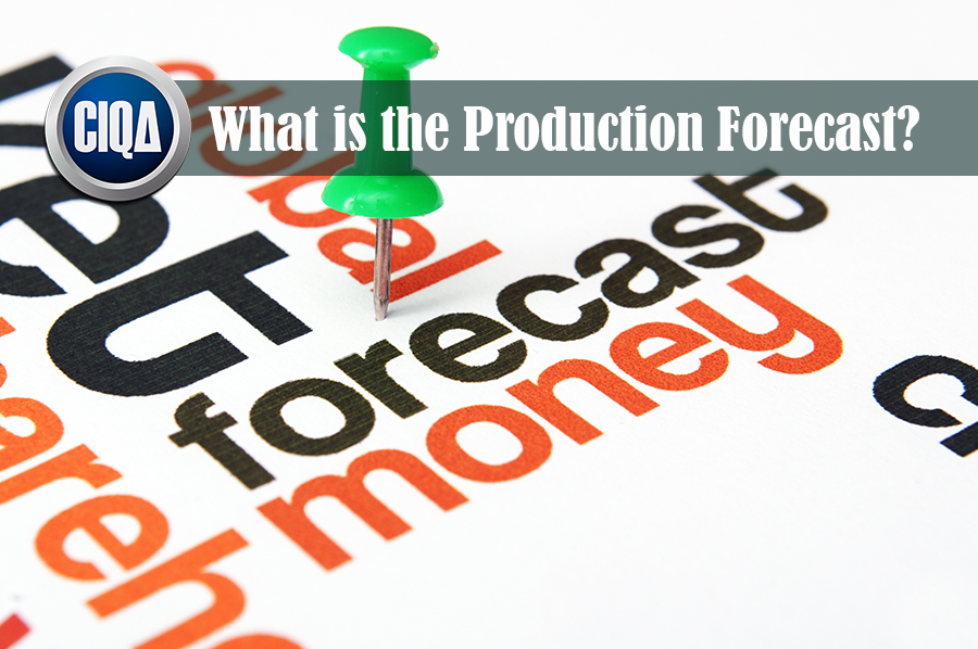 What is the Manufacturing Forecast - Production forecasting