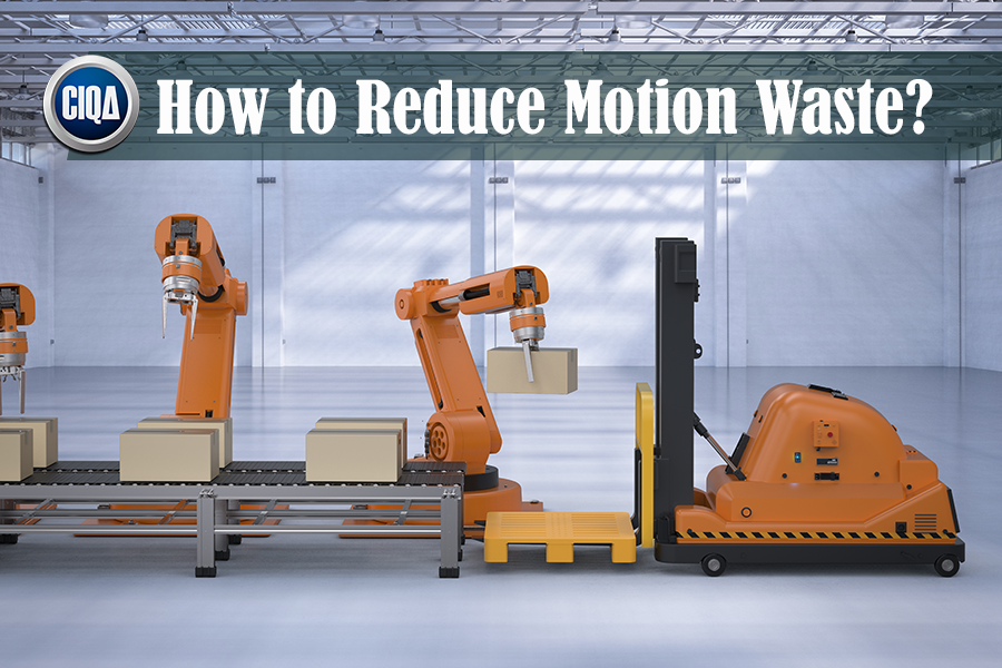 What is Motion Waste According to Lean Manufacturing?