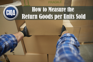how to measure the return goods per unit sold
