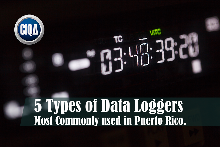 types of data loggers used in Puerto Rico