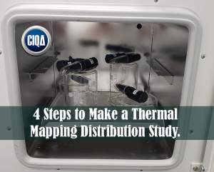 4 Steps to Make a Thermal mapping distribution study
