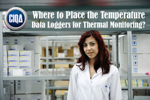 Best Locations of Temperature Data Loggers for Thermal Mapping