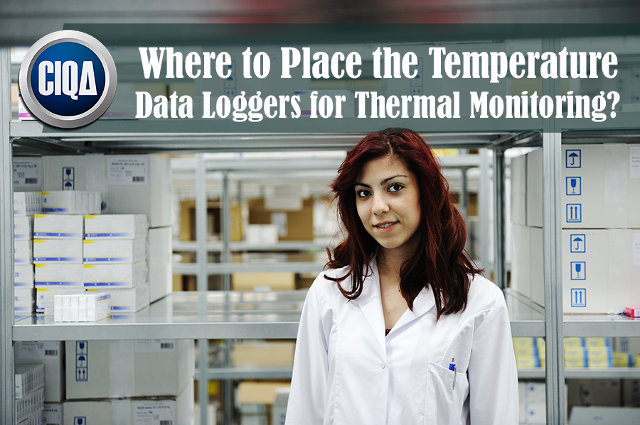 Best Locations of Temperature Data Loggers for Thermal Mapping.