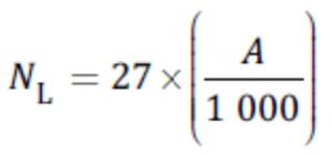 data loggers samples calculation formula