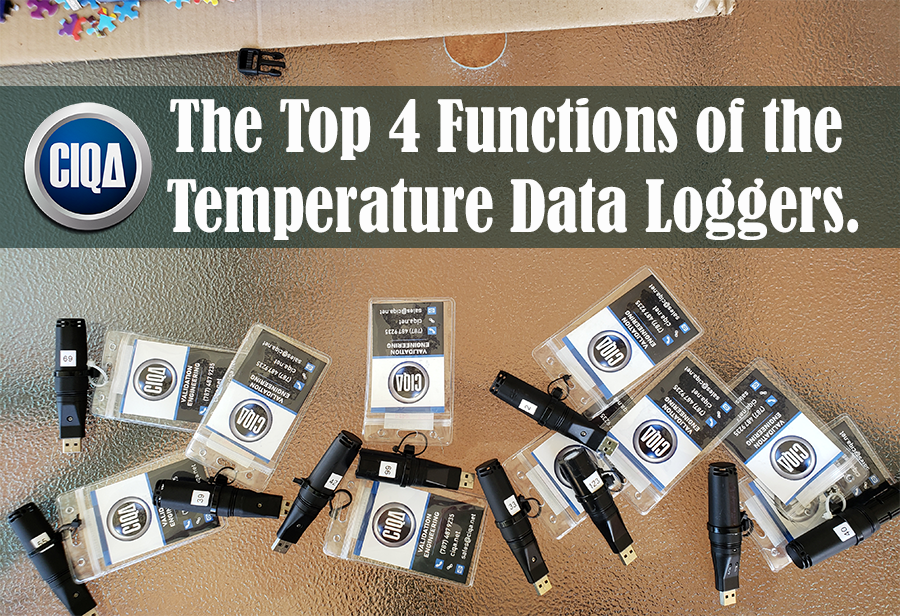 functions of the temperature data loggers