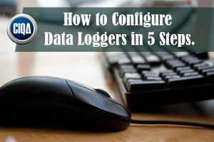 how to set up temperature data loggers