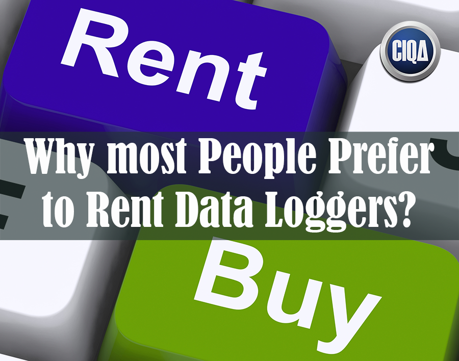 why people prefer to rent temperature data loggers