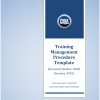 Training Management Procedure SOP Template front page