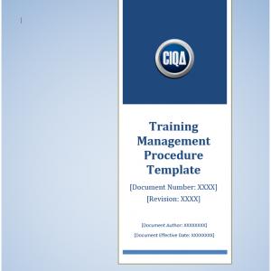 Training Management Procedure Template – Download Online.