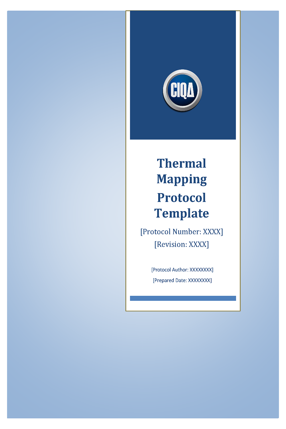 Thermal Mapping Protocol Template – Validation Free Sample Download