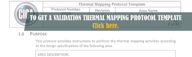TO GET A Validation Thermal Mapping Protocol Template Page 2 - Banner