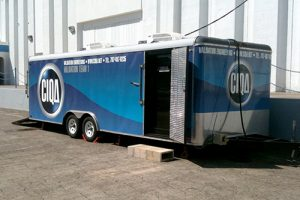 CIQA office Trailer